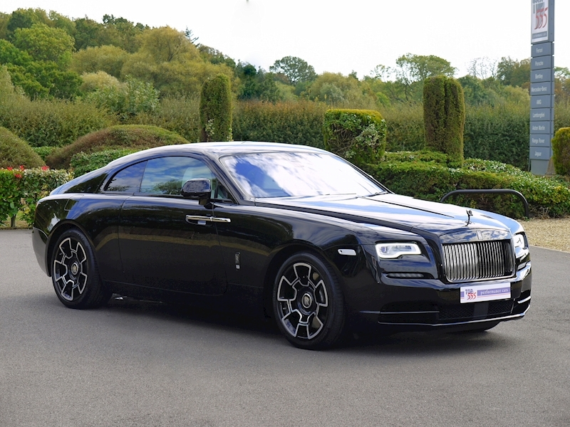 Rolls-Royce Wraith 'Black Badge' - Large 45