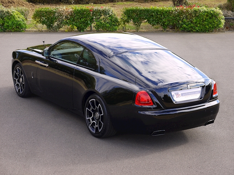 Rolls-Royce Wraith 'Black Badge' - Large 46