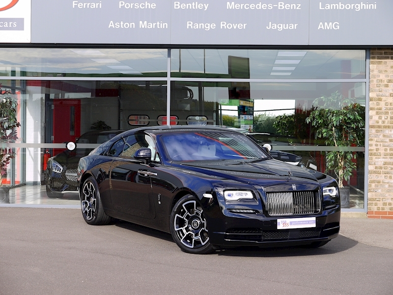 Rolls-Royce Wraith 'Black Badge' - Large 48