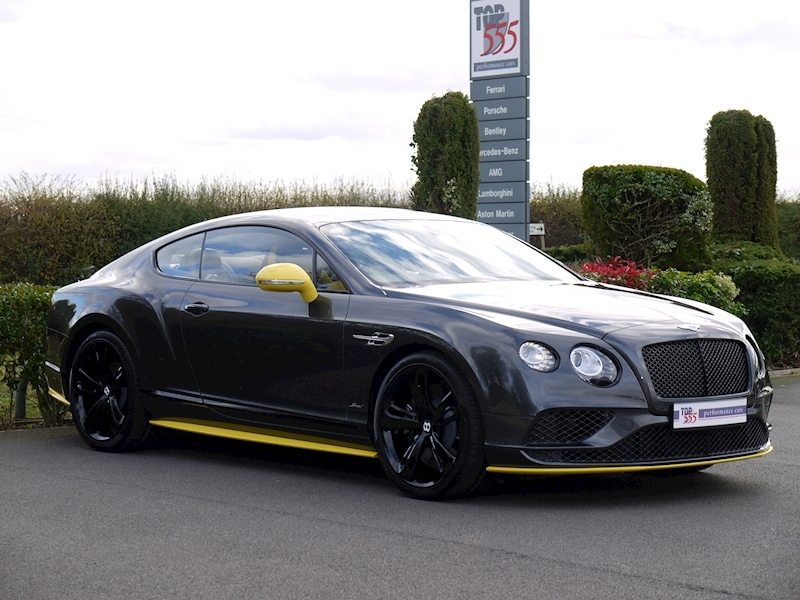 Bentley Continental GT 6.0 Speed - Black Edition - Large 22