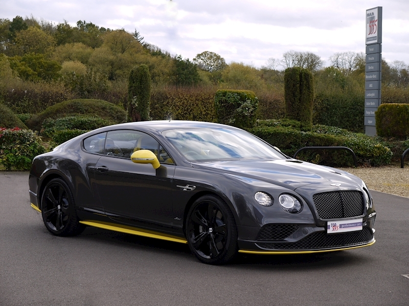 Bentley Continental GT 6.0 Speed - Black Edition - Large 36