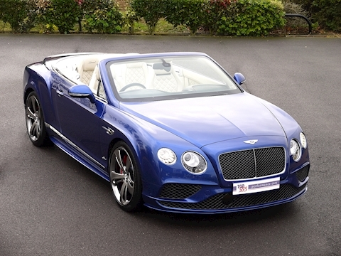 Bentley Continental GT Speed 6.0 Convertible