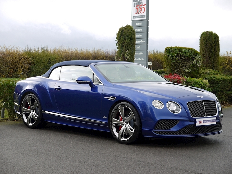 Bentley Continental GT Speed 6.0 Convertible - Large 11