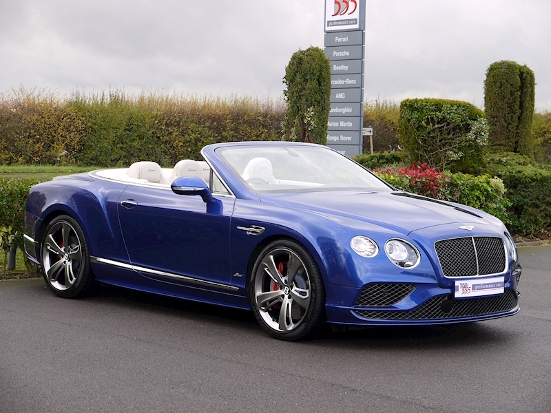 Bentley Continental GT Speed 6.0 Convertible - Large 20