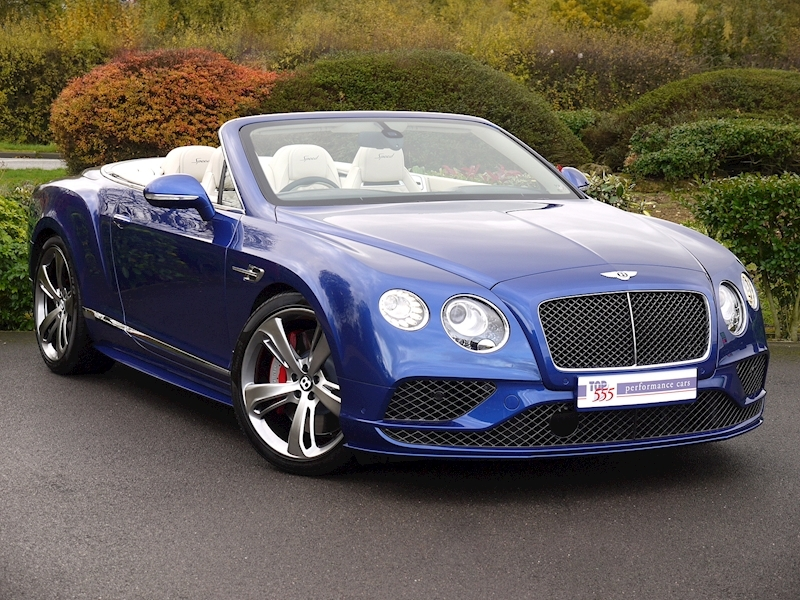 Bentley Continental GT Speed 6.0 Convertible - Large 25