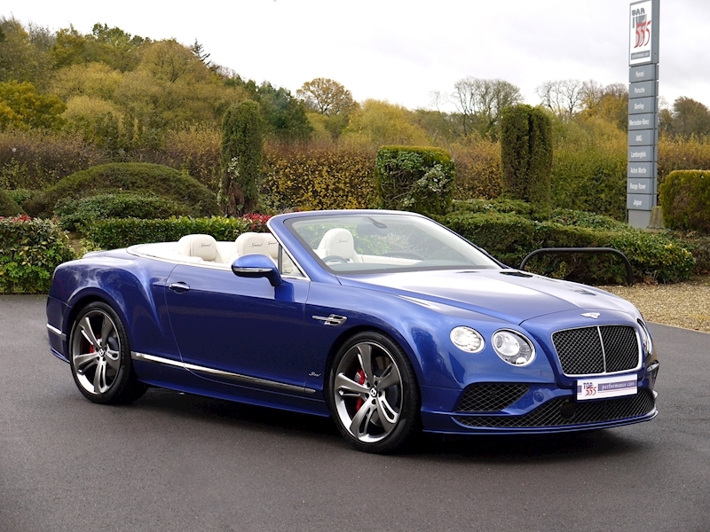 Bentley Continental GT Speed 6.0 Convertible - Large 31