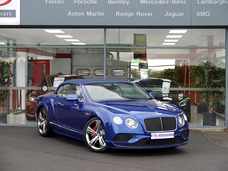 Bentley Continental GT Speed 6.0 Convertible - Large 34