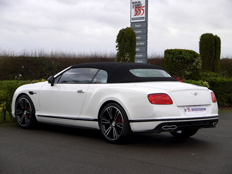 Bentley Continental GTC 4.0 V8 S Mulliner - Large 11