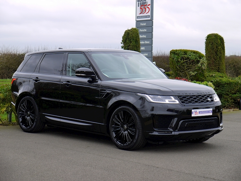 Land Rover Range Rover Sport 3.0 SDV6 HSE Dynamic - Black Pack - Large 15