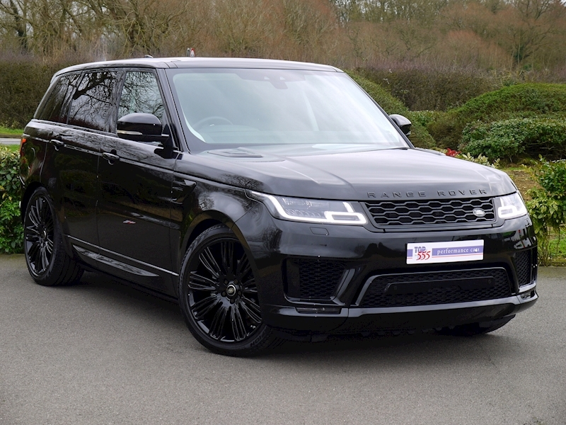 Land Rover Range Rover Sport 3.0 SDV6 HSE Dynamic - Black Pack - Large 21