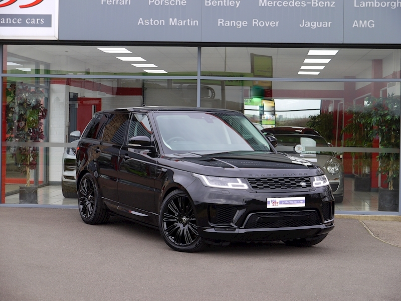 Land Rover Range Rover Sport 3.0 SDV6 HSE Dynamic - Black Pack - Large 29