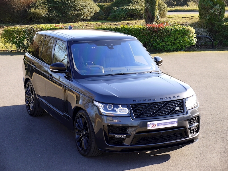 Land Rover RANGE ROVER 4.4 SDV8 AUTOBIOGRAPHY - BLACK SVO DESIGN PACK - Large 0