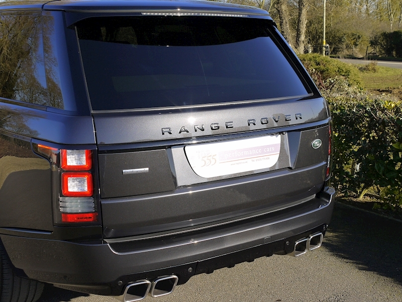 Land Rover RANGE ROVER 4.4 SDV8 AUTOBIOGRAPHY - BLACK SVO DESIGN PACK - Large 3
