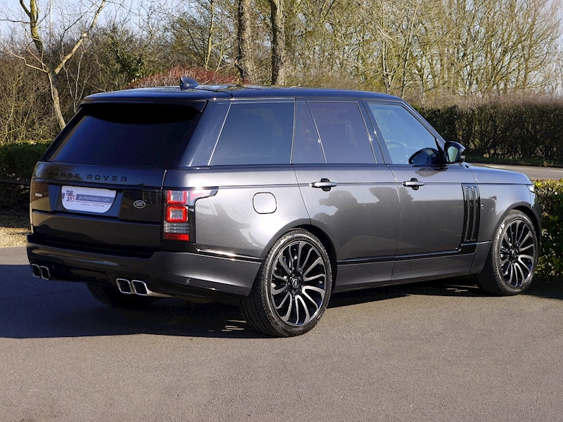 Land Rover RANGE ROVER 4.4 SDV8 AUTOBIOGRAPHY - BLACK SVO DESIGN PACK - Large 11