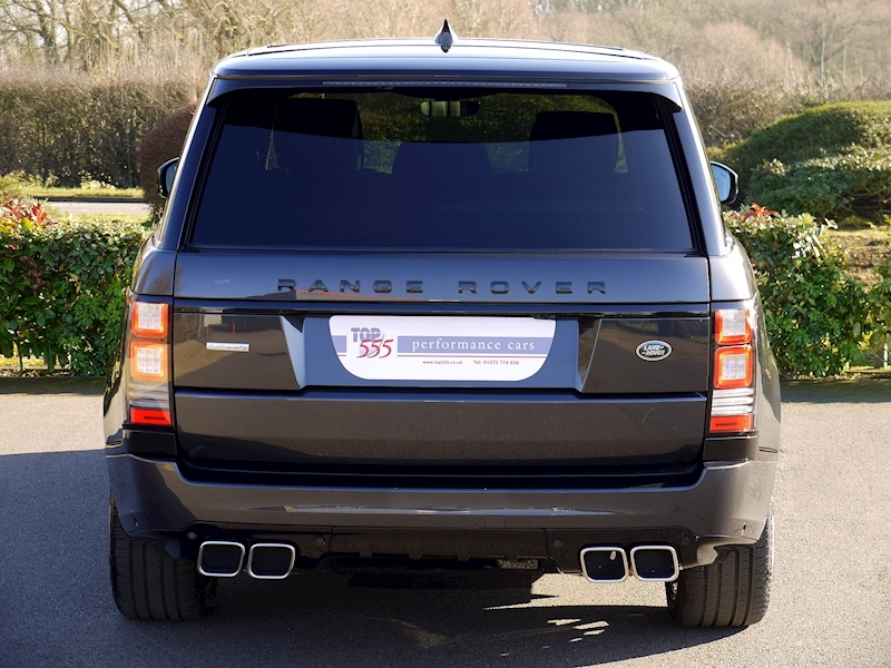 Land Rover RANGE ROVER 4.4 SDV8 AUTOBIOGRAPHY - BLACK SVO DESIGN PACK - Large 16