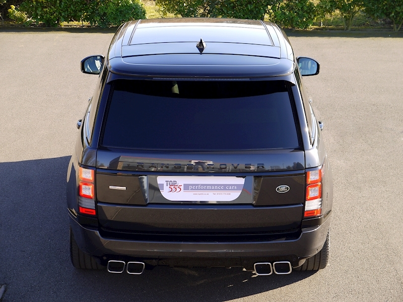 Land Rover RANGE ROVER 4.4 SDV8 AUTOBIOGRAPHY - BLACK SVO DESIGN PACK - Large 17
