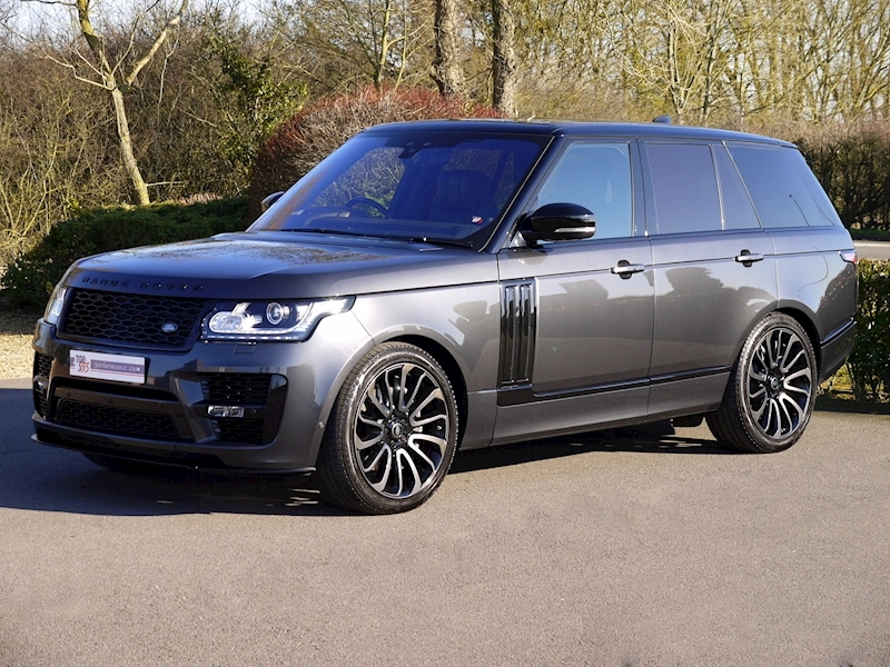 Land Rover RANGE ROVER 4.4 SDV8 AUTOBIOGRAPHY - BLACK SVO DESIGN PACK - Large 22