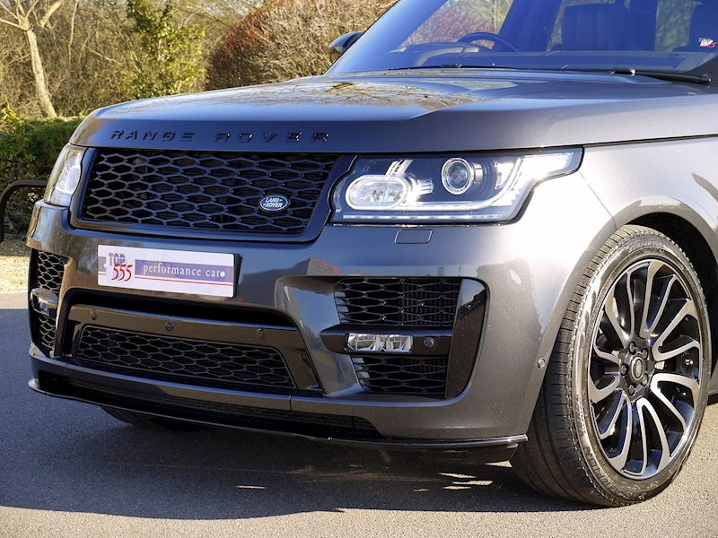 Land Rover RANGE ROVER 4.4 SDV8 AUTOBIOGRAPHY - BLACK SVO DESIGN PACK - Large 23
