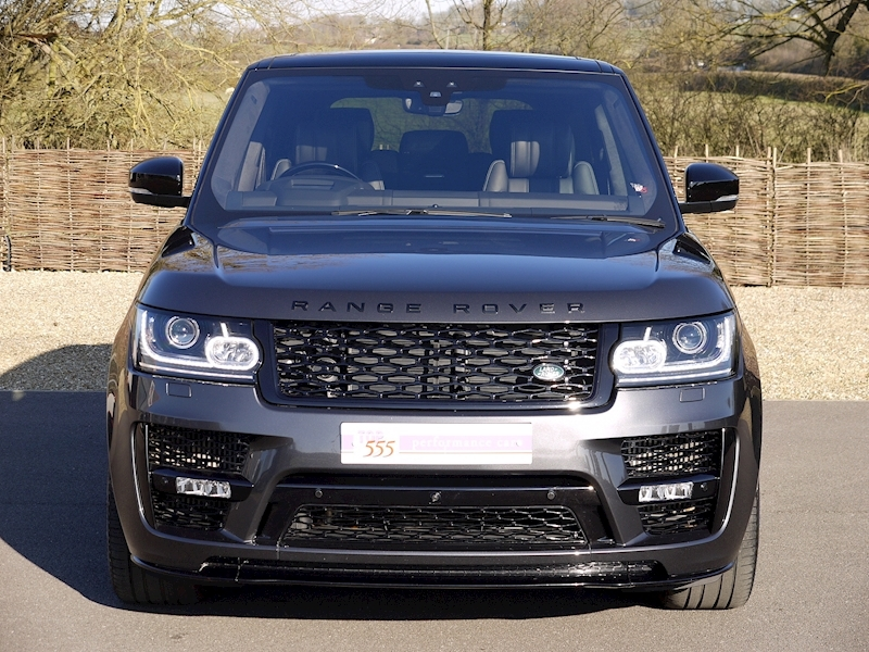 Land Rover RANGE ROVER 4.4 SDV8 AUTOBIOGRAPHY - BLACK SVO DESIGN PACK - Large 25