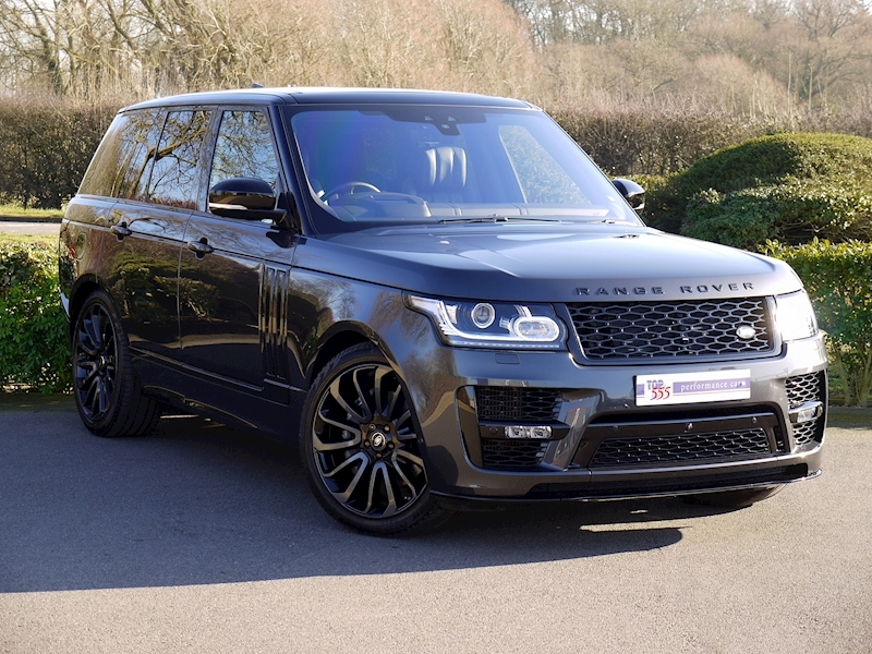 Land Rover RANGE ROVER 4.4 SDV8 AUTOBIOGRAPHY - BLACK SVO DESIGN PACK - Large 27