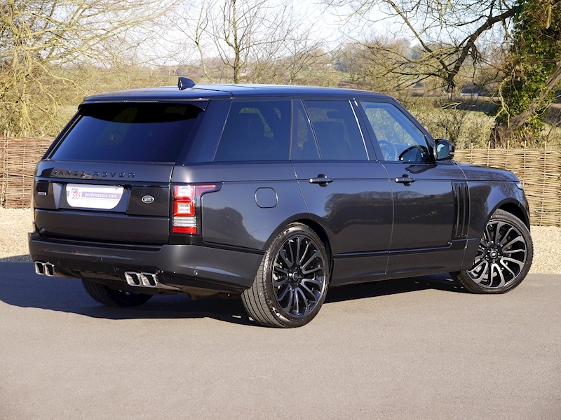 Land Rover RANGE ROVER 4.4 SDV8 AUTOBIOGRAPHY - BLACK SVO DESIGN PACK - Large 28
