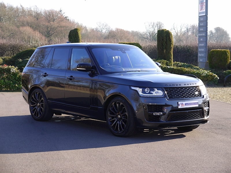 Land Rover RANGE ROVER 4.4 SDV8 AUTOBIOGRAPHY - BLACK SVO DESIGN PACK - Large 35