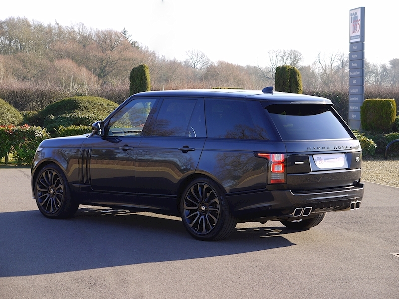 Land Rover RANGE ROVER 4.4 SDV8 AUTOBIOGRAPHY - BLACK SVO DESIGN PACK - Large 36