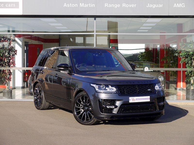 Land Rover RANGE ROVER 4.4 SDV8 AUTOBIOGRAPHY - BLACK SVO DESIGN PACK - Large 39