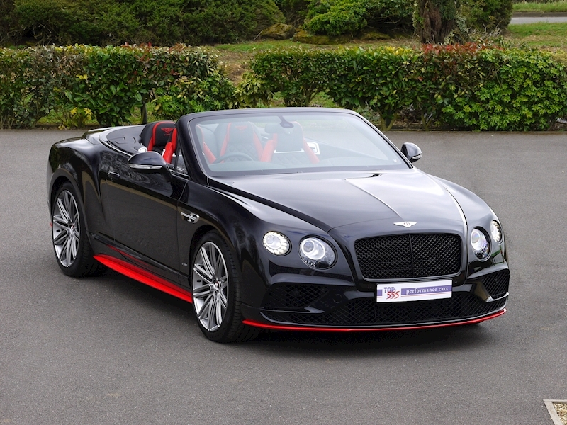 Bentley Continental GTC V8 S - Black Edition - Large 0