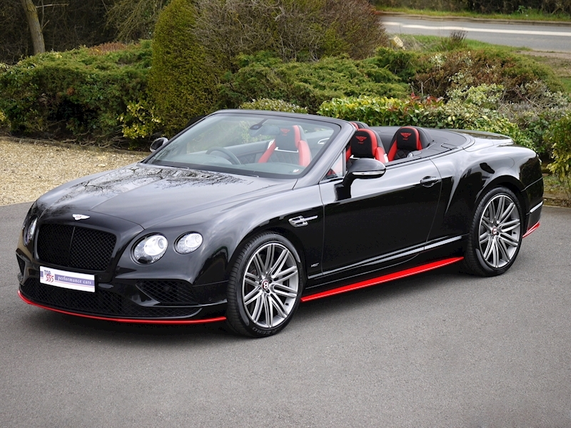 Bentley Continental GTC V8 S - Black Edition - Large 18