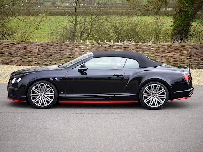 Bentley Continental GTC V8 S - Black Edition - Large 20