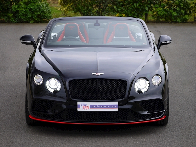 Bentley Continental GTC V8 S - Black Edition - Large 21