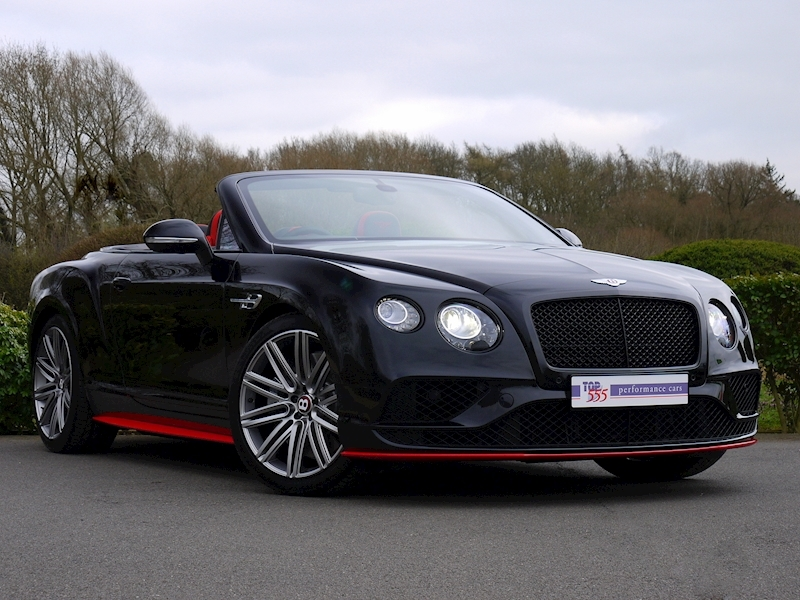 Bentley Continental GTC V8 S - Black Edition - Large 24