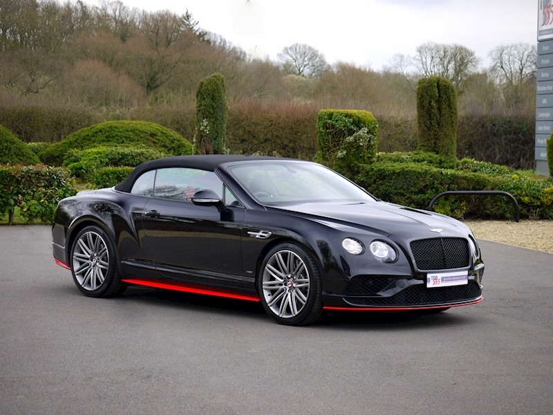 Bentley Continental GTC V8 S - Black Edition - Large 31
