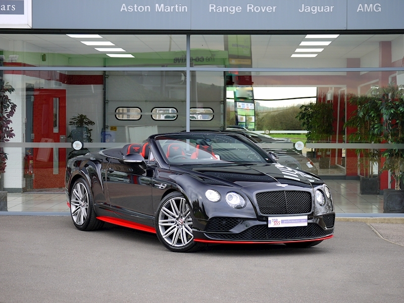 Bentley Continental GTC V8 S - Black Edition - Large 34