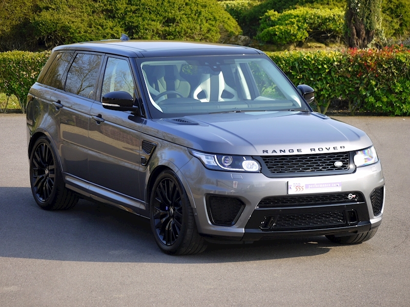 Land Rover Range Rover Sport 5.0 V8 'SVR' - 2017 Model - Large 0