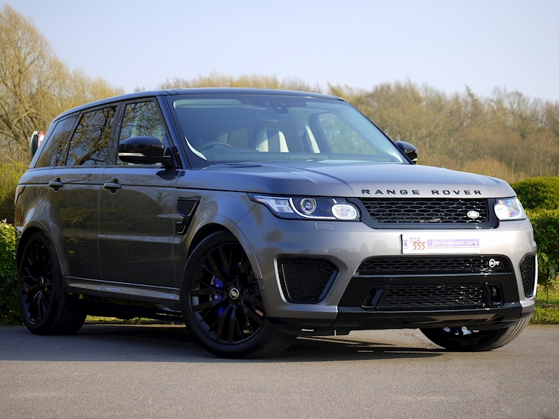 Land Rover Range Rover Sport 5.0 V8 'SVR' - 2017 Model - Large 25