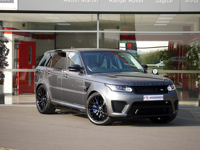 Land Rover Range Rover Sport 5.0 V8 'SVR' - 2017 Model - Large 34