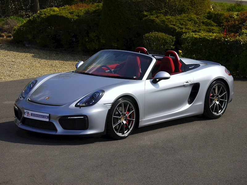 Porsche Boxster Spyder (981) 3.8 Manual - Large 17