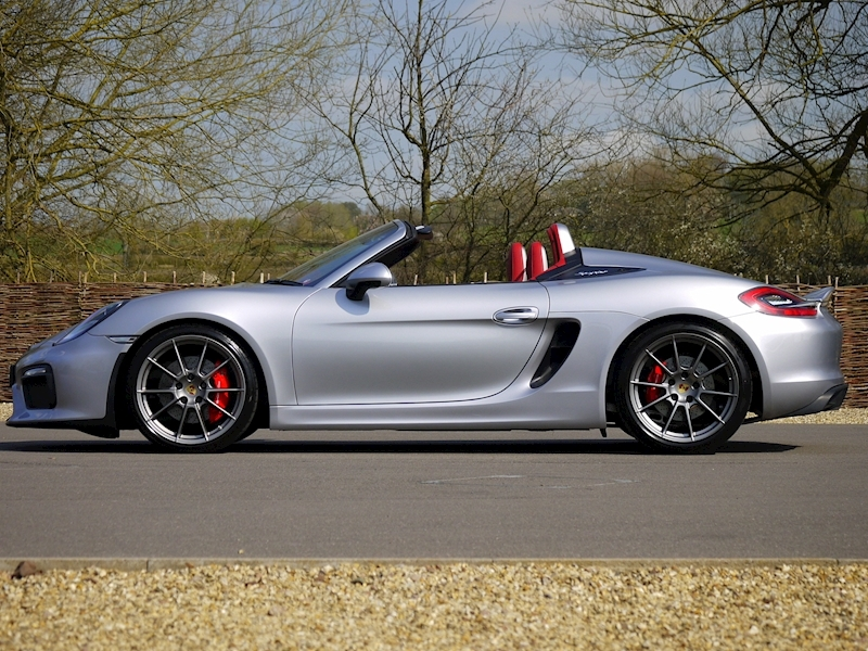 Porsche Boxster Spyder (981) 3.8 Manual - Large 20