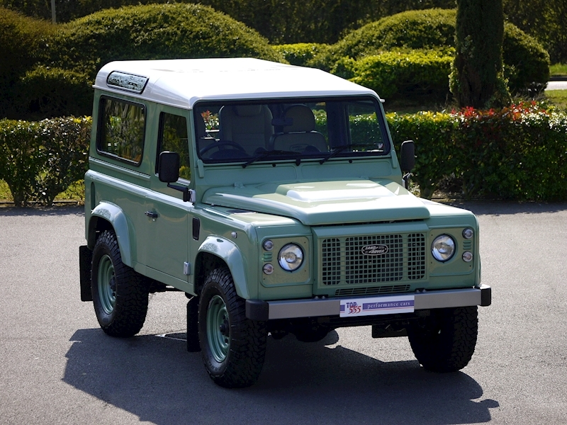 Land Rover Defender 90 'Heritage Edition' Station Wagon - VAT Qualifying - Large 0