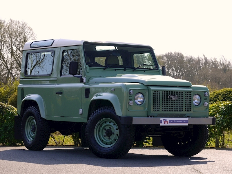 Land Rover Defender 90 'Heritage Edition' Station Wagon - VAT Qualifying - Large 18