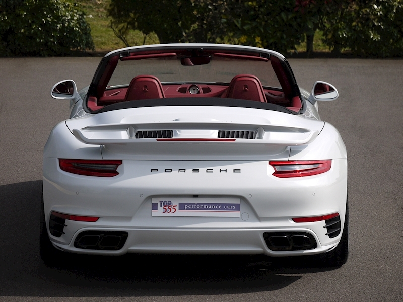 Porsche 911 (991.2) Turbo S 3.8 Convertible PDK - Aerokit - Large 12