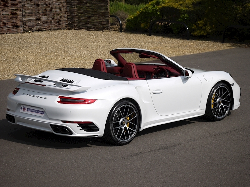 Porsche 911 (991.2) Turbo S 3.8 Convertible PDK - Aerokit - Large 13