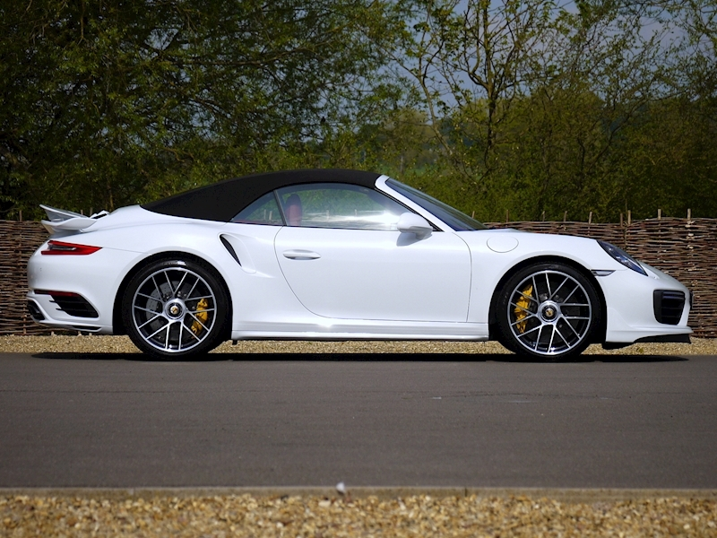 Porsche 911 (991.2) Turbo S 3.8 Convertible PDK - Aerokit - Large 14