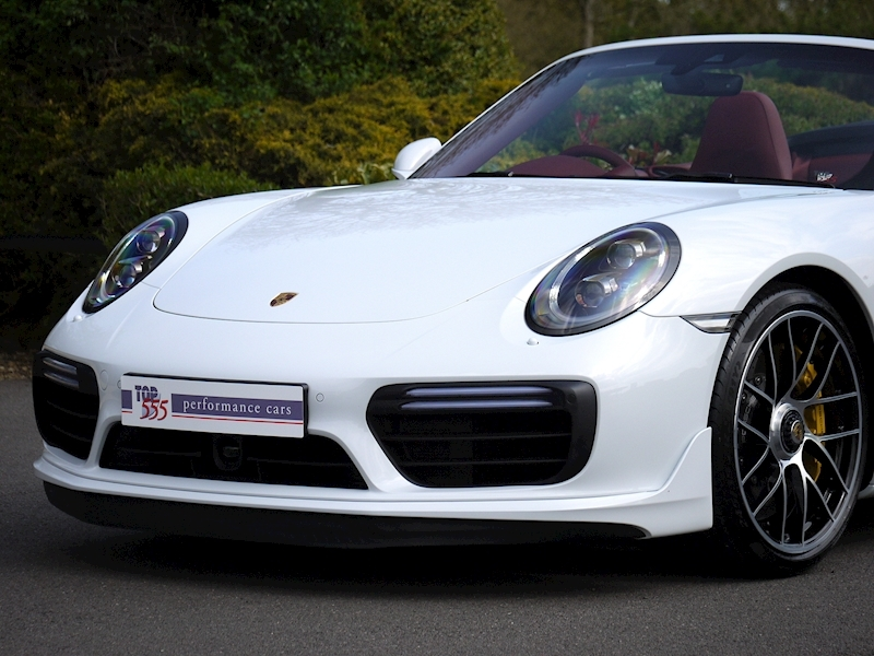 Porsche 911 (991.2) Turbo S 3.8 Convertible PDK - Aerokit - Large 16