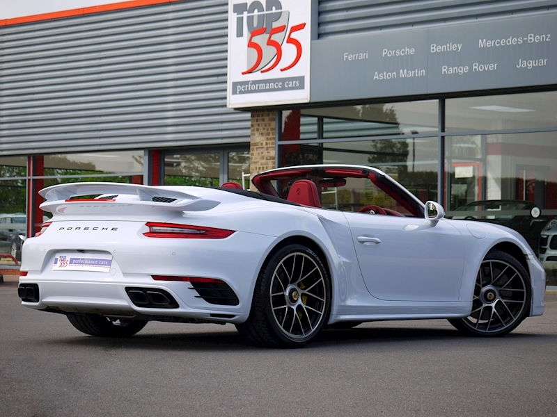 Porsche 911 (991.2) Turbo S 3.8 Convertible PDK - Aerokit - Large 22