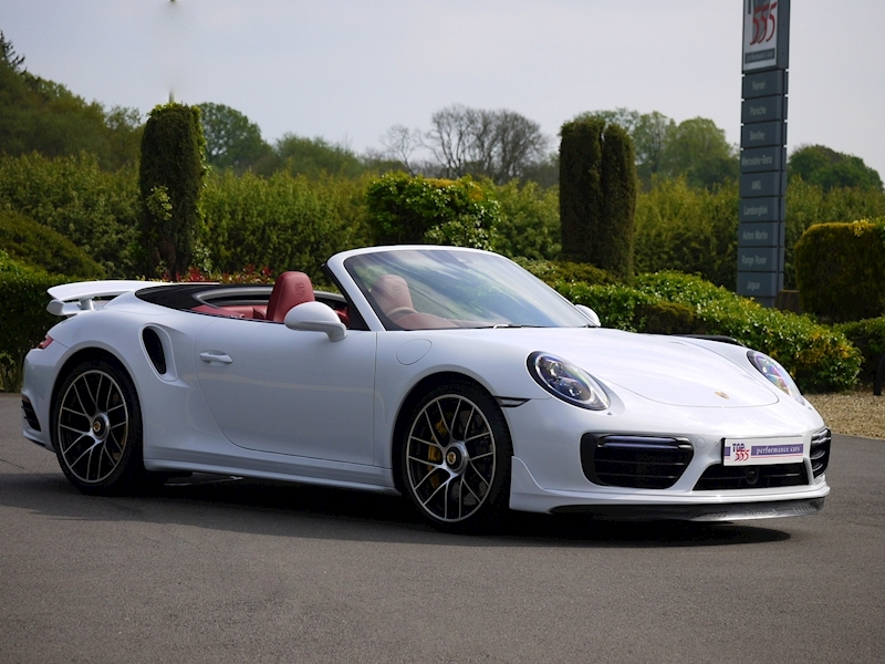 Porsche 911 (991.2) Turbo S 3.8 Convertible PDK - Aerokit - Large 29