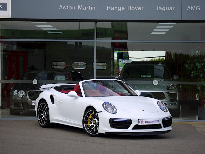 Porsche 911 (991.2) Turbo S 3.8 Convertible PDK - Aerokit - Large 32