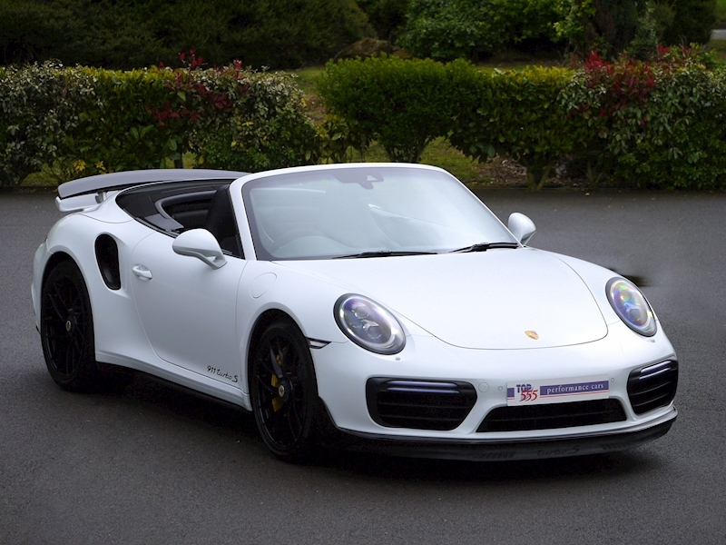 Porsche 911 (991.2) Turbo S 3.8 Convertible PDK - Aerokit - Large 0